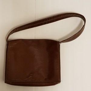 Brown Leather Mondani Hobo Bag